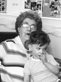 Great Great Grandma Sampson